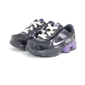 Nike Shox Turbo Purple Black Shoes Toddler